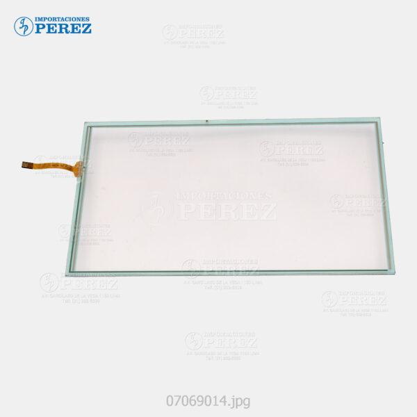 Touch Panel Cristal (-) Mp- 2553 3053 3353 2554 3054 3554 4054 5054 6054 C401 C401SR C6502 C8002 C2003 C2503 C3003 C3503 C4503 C5503 C6003  - Pro- C5100 C5110 C5100S C5110S  - - - 0g - Panel - Compati - 007069014