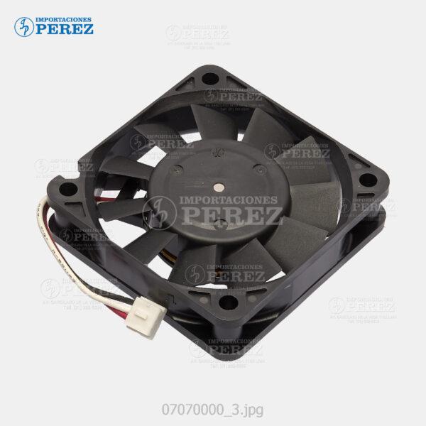 Ventilador (Fan Motor) Negro (2.16w - 24v - 0.09A) Mp- 4000 5000 4001 5001 4002 5002 C300 C400 C401 C430 C431  - Sp- C210  - *** Solo para los modelos: Mp- C300 C400 C401  - Sp- C210    -   Llevan 04 - 007070000
