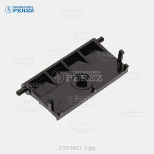 Pad Friccion Crema (By-Pass - Separation Roller) Mp- C2000 C3000 C2500 C2500SPF  - - - 0g - By-Pass (Entrada Manual) - Original - Original - Ricoh - 007071003