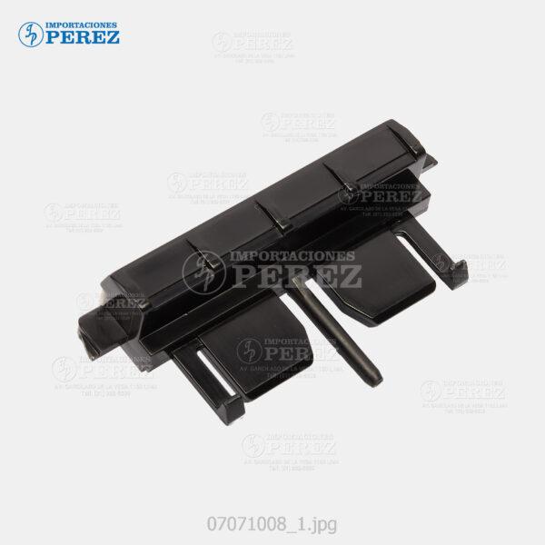 Pad Friccion Negro (Bandeja Casettera) Sp- 4100 4210 5200 5210 C410 C411 C420 4100N 4100NL 4110N 4210N 5200DN 5200S 5210DN 5210SF 5210SR C410DN C411DN C420DN  - - - 0g - Bandeja - Original - Original - 007071008