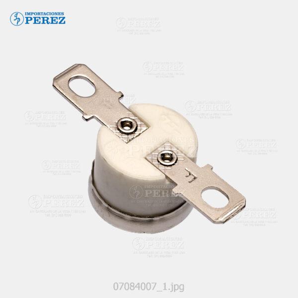 Thermostato 190° Negro (Fusor) Mp- C2000 C2500 C3000  - - - 0g - Unid. Fusora - Original - Original - Ricoh - 007084007