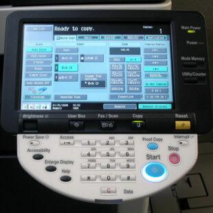 Fotocopiadora Konica Minolta Bizhub C353 - Importaciones Perez