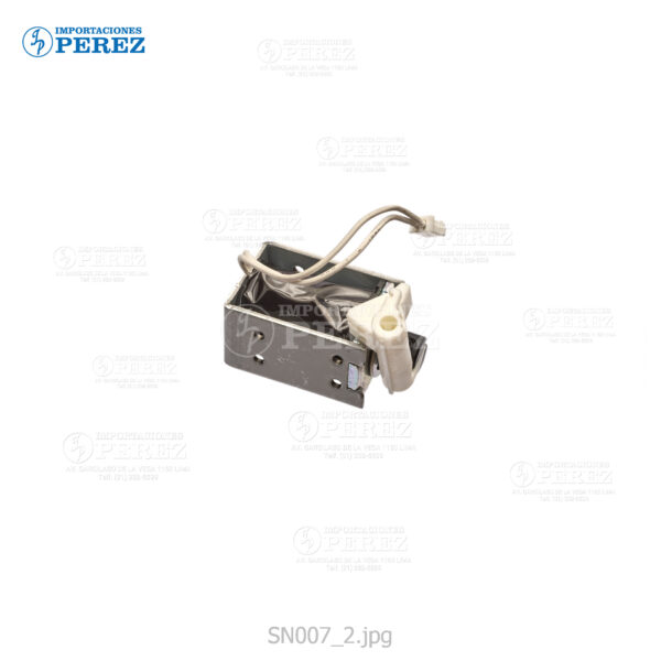 Selenoide Plata (Guía Dúplex c Level) Mp- C6502 C8002  - - - 0g - Guía Dúplex - Original - Original - Ricoh - 0SN007