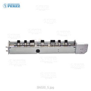 Bloque Sub-Dúplex Plata (-) Mp- C6502 C8002  - - - 0g - Lateral Izquierdo Dúplex - Original - Original - Ricoh - 0SN020