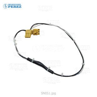 Cable Fusor Blanco (-) Mp- 2554 3054 3554 4054 5054 6054  - - - 0g - Unid. Fusora a la Fuente Poder - Original - Original - Konica Minolta - 0SN051