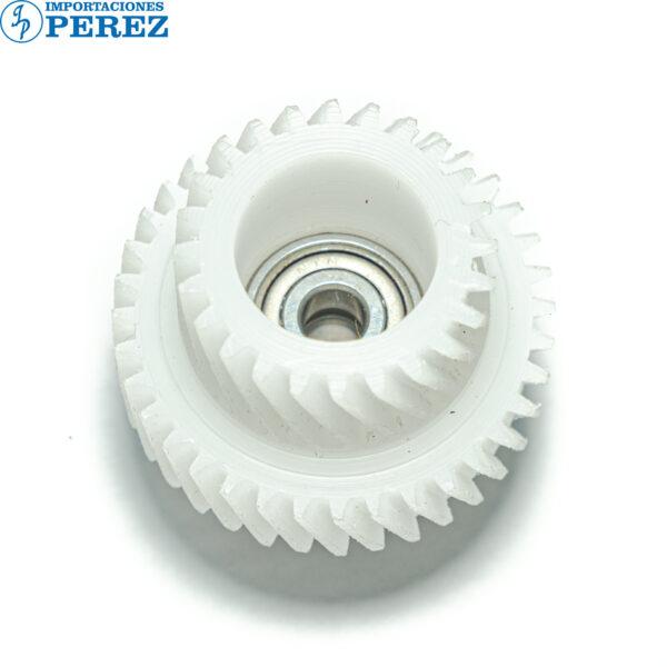 Gear Triple Con Rodaje Blanco (Revelado) Di- 551 650 5510 7210  - K- 7155 7165  - Bizhub - 7255 7272 5510 7210  - - - 0g - Unid. Revelado - Compatible - Hechizo - 0R01005