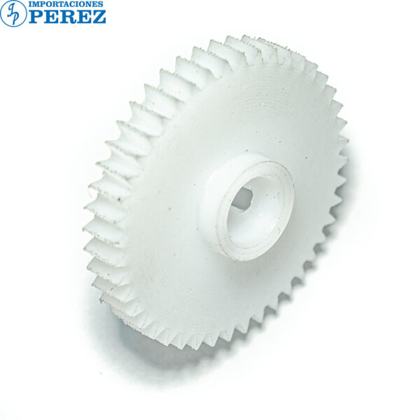 Gear 44T Blanco (Bloque Piñones Manta) Di- 551 650 5510 7210  - K- 7155 7165  - Bizhub - 7255 7272 5510 7210  - - - 0g - Acople de Manta - Compatible - Hechizo - 0R01007