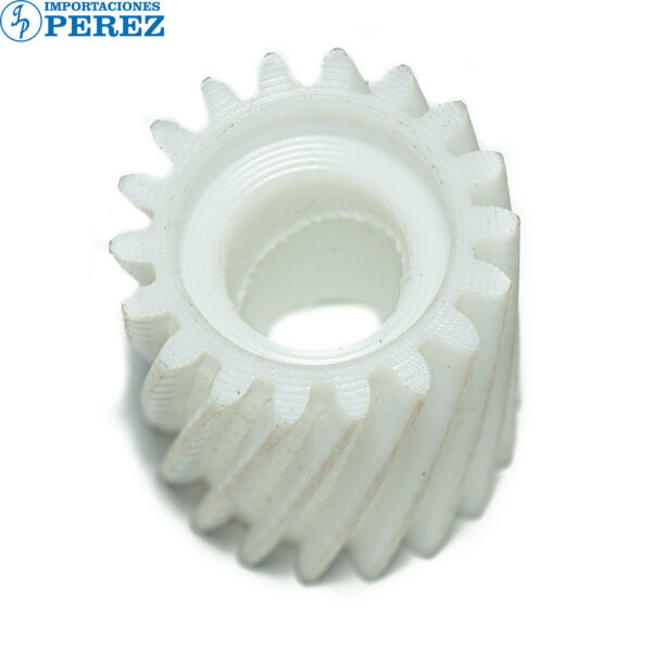 Gear 18T - Largo Blanco (Fusor) Mp- C2003 C2503 C3003 C3503 C4503 C5503 C6003 C2004 C2504 C3004 C3504 C4504 C6004  - - - 0g - Unid. Fusora - Compatible - Hechizo - 0R01045