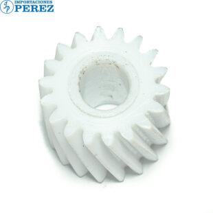 Gear 18T Blanco (Fusor) Mp- C2051 C2551  - - - 0g - Unid. Fusora - Compatible - Hechizo - 0R01048